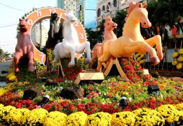TPHCM, tết 2015 sẽ tổ chức đường hoa ở một vị trí khác